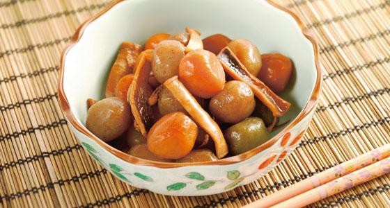 We have posted the recipes. レシピサイトを更新しました。 「Yamagata-Style Tama Konnyaku/玉こんにゃく山形風」