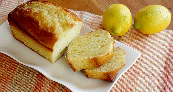 We have posted the recipes. レシピサイトを更新しました。 「Salted Lemon Pound Cake / 塩レモンケーキ」