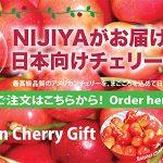 Nijiya Cherry Gift 2018 / ニジヤ チェリーギフト 2018